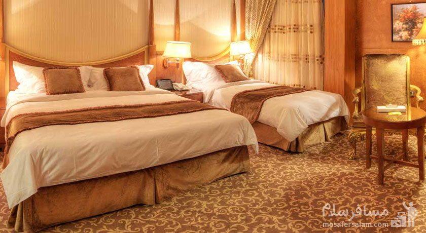 اتاق امپریال هتل درویشی مشهد