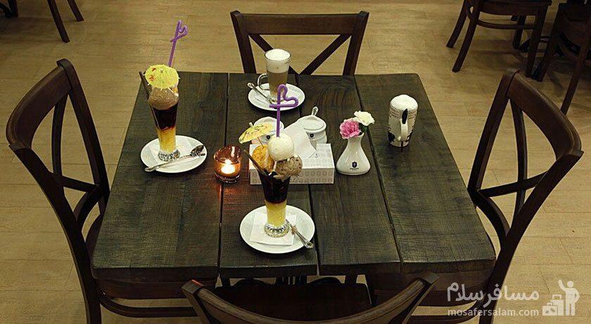 میز کافیشاپ هتل جواد مشهد