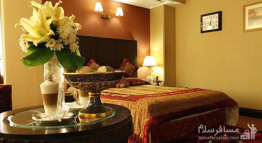 اتاق یکتخته هتل جواد مشهد