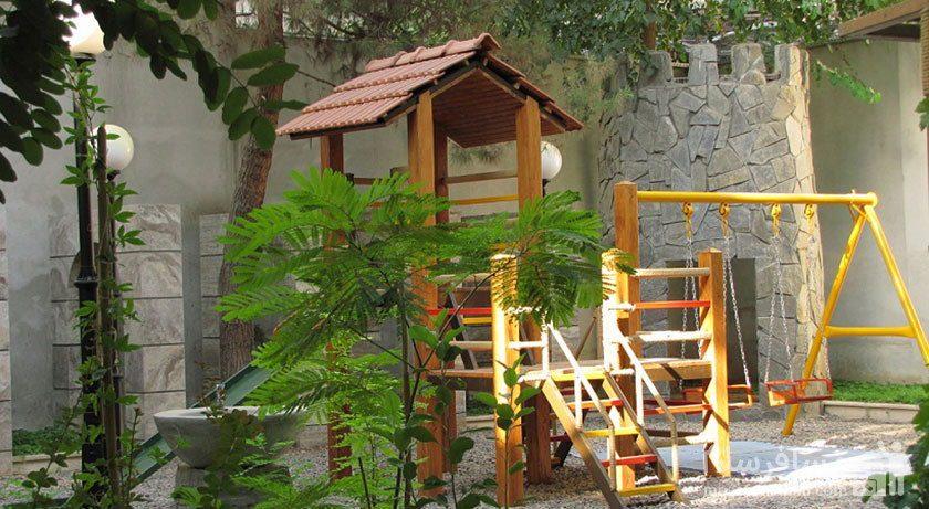 فضای باز هتل تهران مشهد