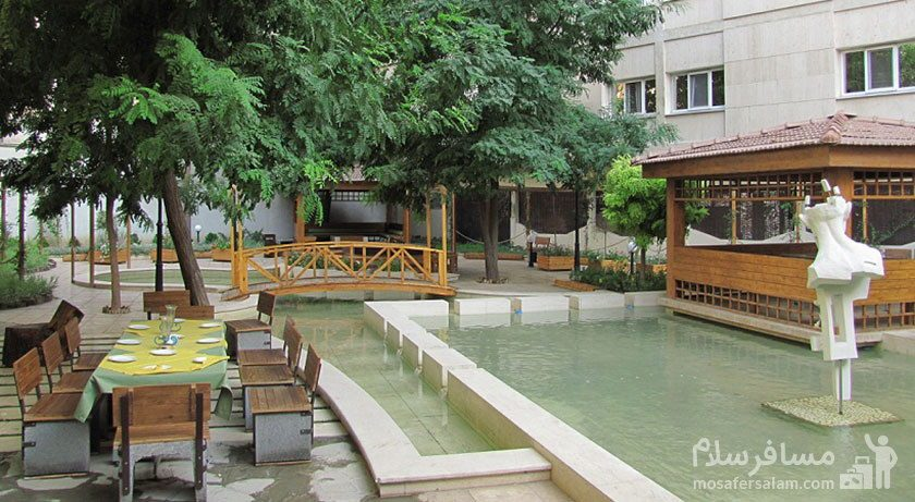 آلاچیق هتل تهران مشهد