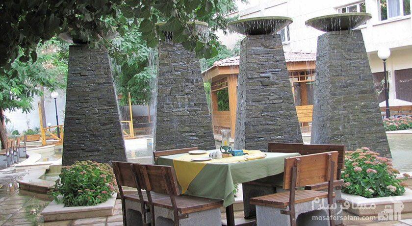 آبشارهای هتل تهران مشهد