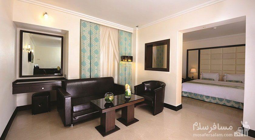 اتاق کلاسیک هتل تهران مشهد