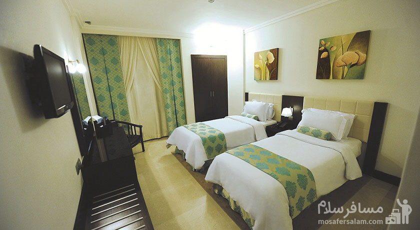 اتاق دبل هتل تهران مشهد