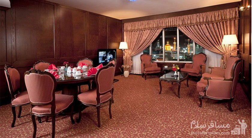 آپارتمان اشراق هتل توس مشهد