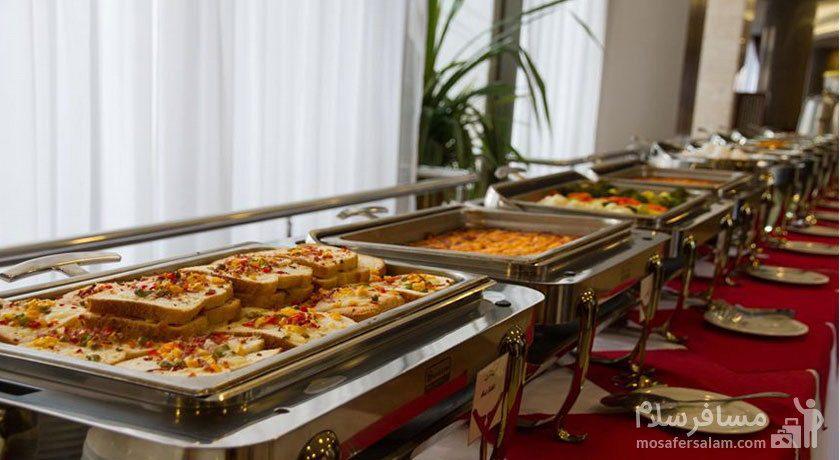 بوفه ناهار هتل توس مشهد