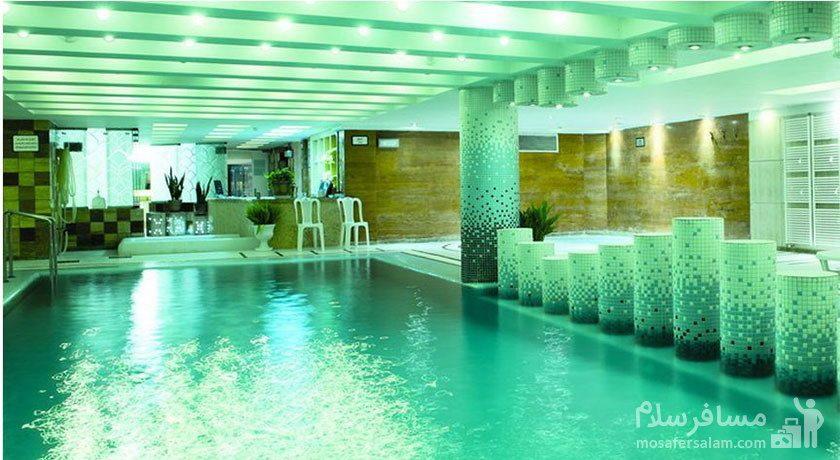 مجموعه آبی و ماساژ هتل توس مشهد