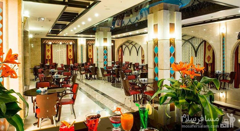 رستوران گل نرگس 2 هتل مدینه الرضا