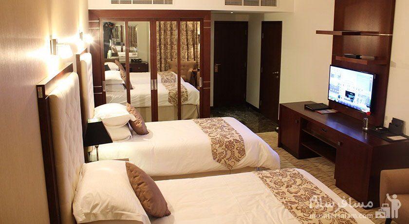 هتل سورینت مریم کیش اتاق دوتخته توئین