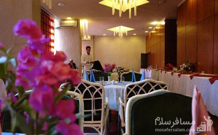 هتل شایان کیش رستوران فرانسوی