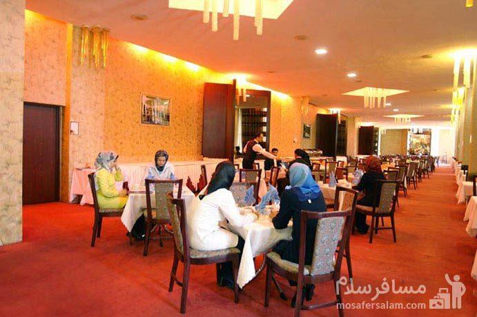 رستوران شمبلیر هتل شایان کیش