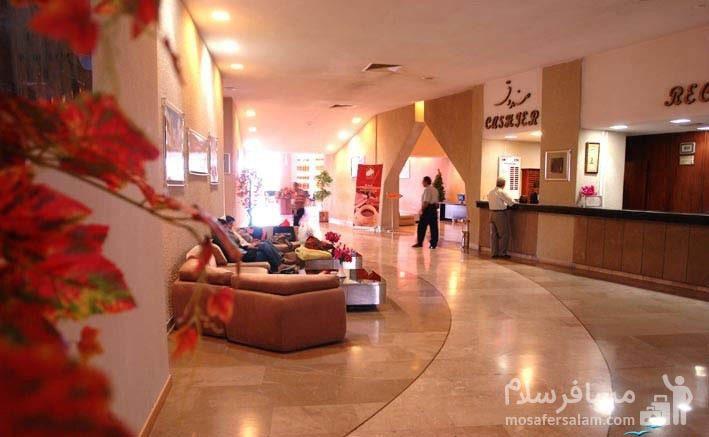 هتل شایان کیش لابی