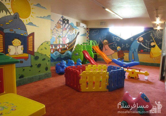 فضا بازی کودکان هتل شایگان کیش
