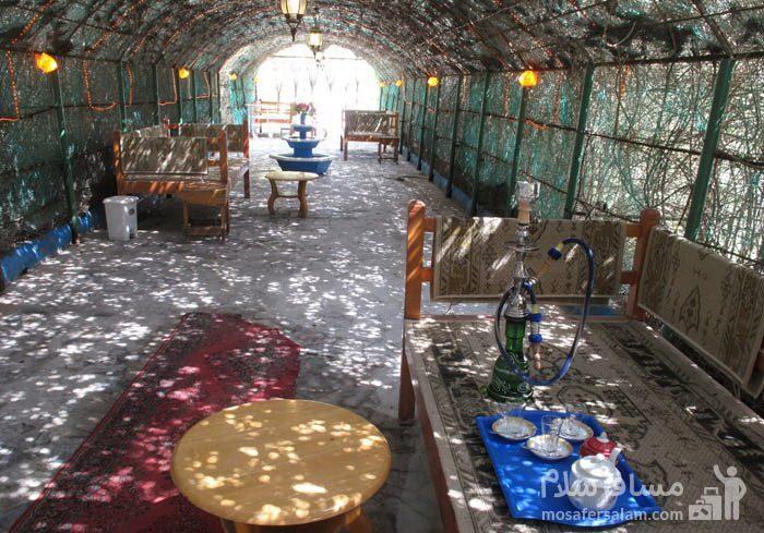 تختهای سنتی هتل شایگان