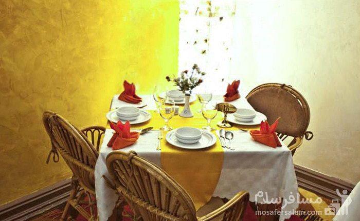 میز چهارنفره هتل شایگان