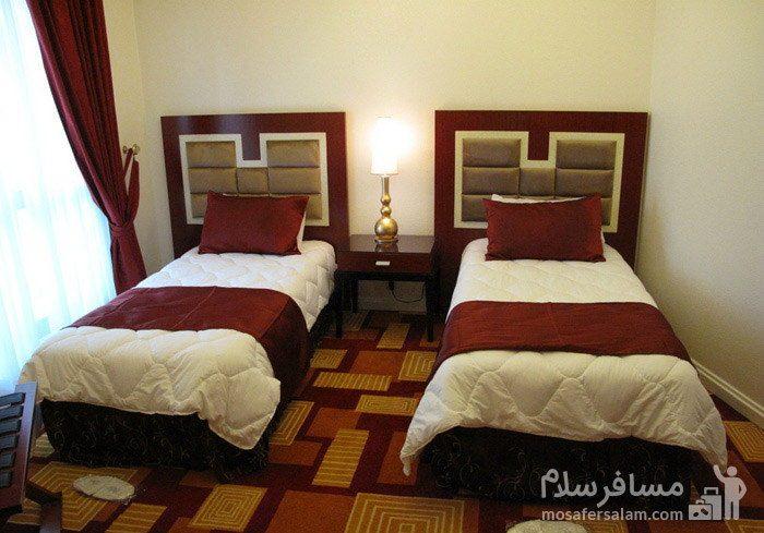 اتاق دوتخته توئین هتل شایگان