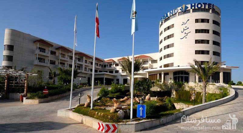 هتل گراند کیش نمای اصلی