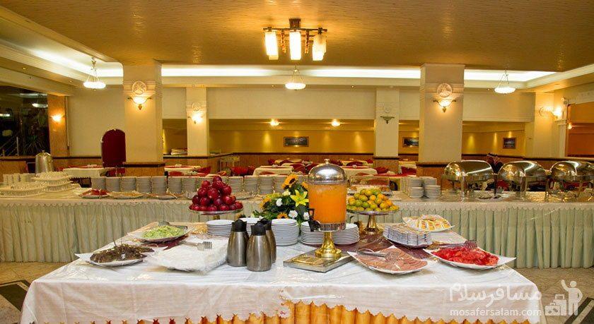 رستوران سلف سرویس هتل مشهد