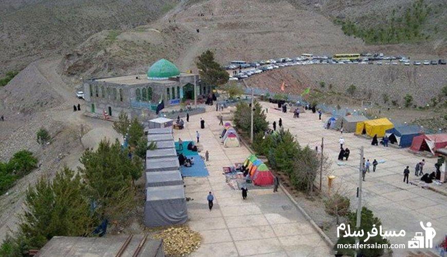 امامزاده سید عبدالعزیز روستای دهسرخ
