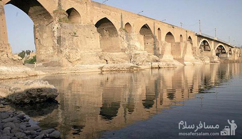 پل دزفول ، قدیمی ترین پل