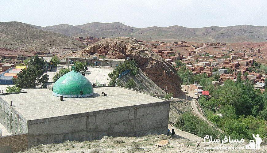 روستای دهسرخ مشهد، متبرک به قدوم امام هشتم