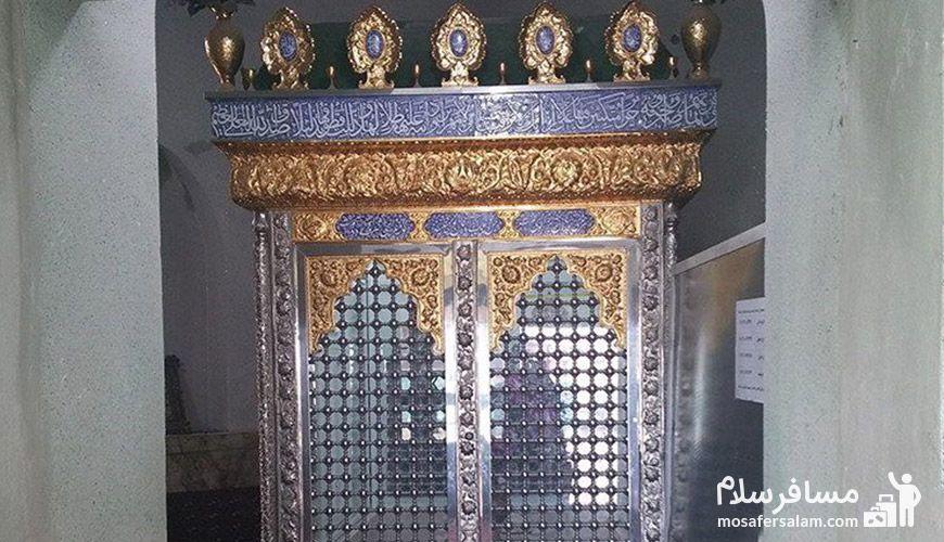 ضریح امامزاده سید عبدالعزیز