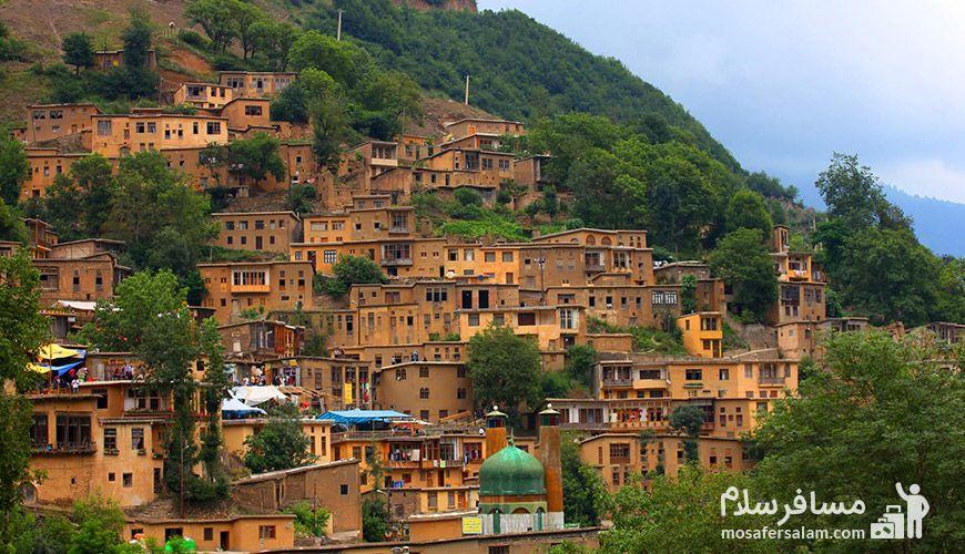 روستا پلکانی ماسوله
