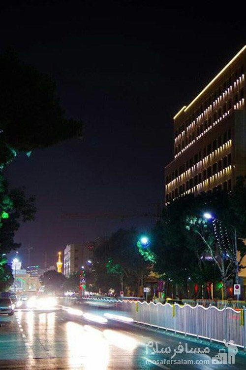 هتل حیات شرق مشهد خیابان نواب