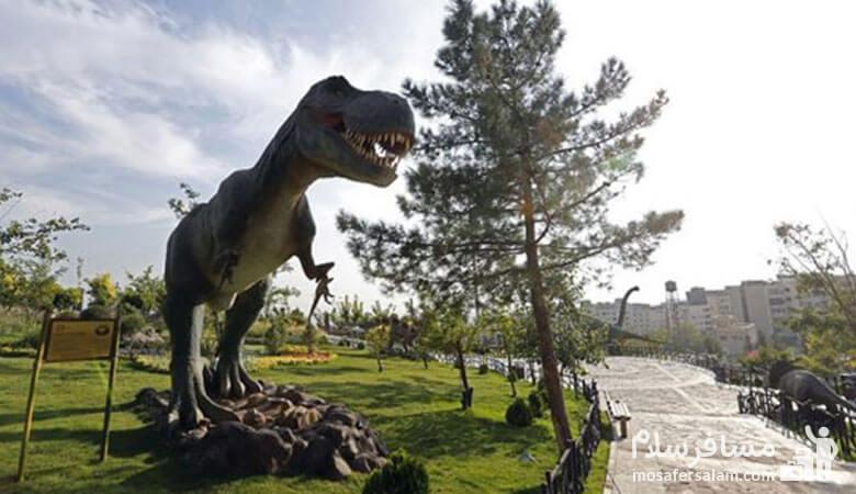 پارک ژوراسیک تهران، پارک موضوعی پایتخت، گروه گردشگری مسافرسلام