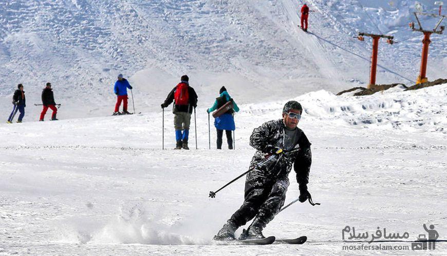 معرفی پیست اسکی شیرآباد ، اولین و تنها پیست اسکی شرق کشور
