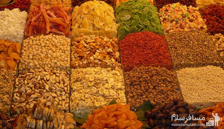 آجیل, سوغات مشهد