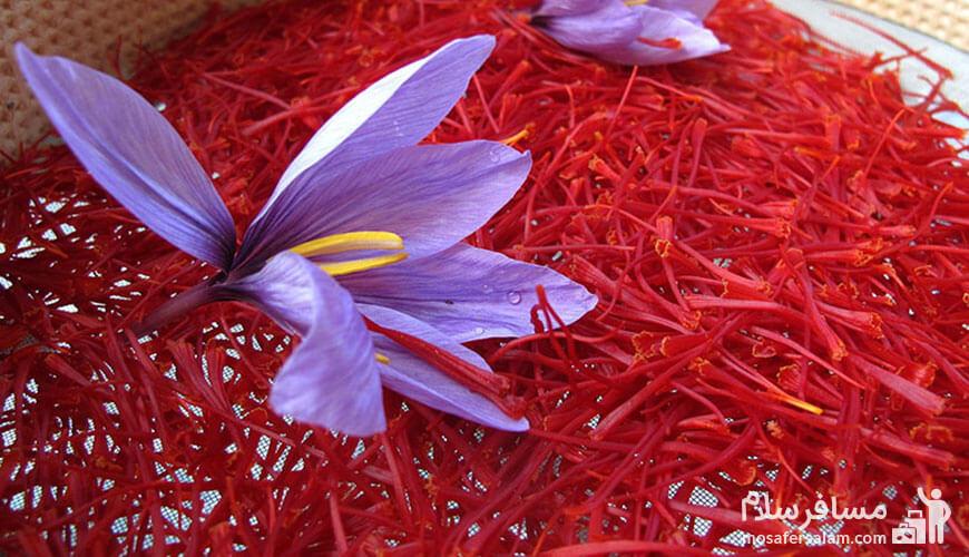 زعفران, سوغات مشهد