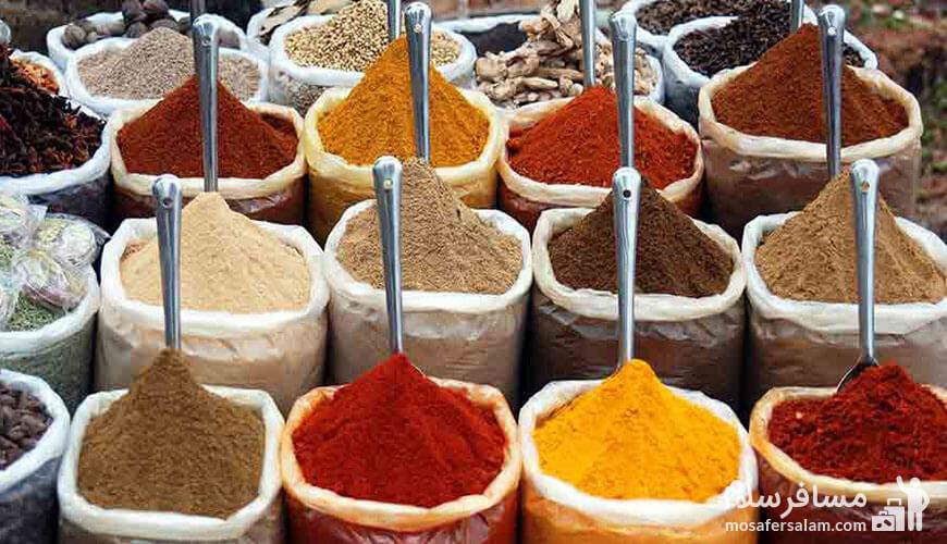 ادویه هفت قلم از سوغات مشهد