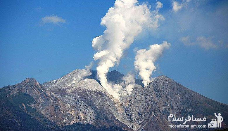 کوه تفتان، آتشفشان تفتان، آتشفشان کوه تفتان، مسافرسلام