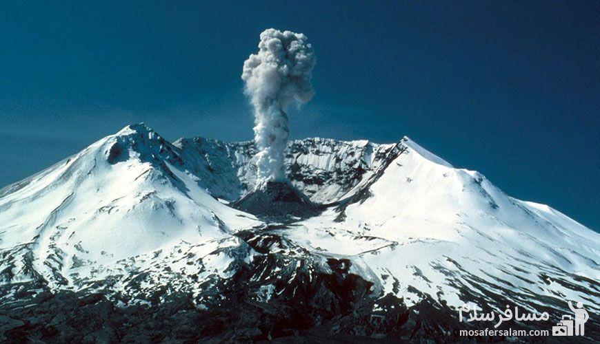 کوه تفتان ، تنها آتشفشان فعال در ایران