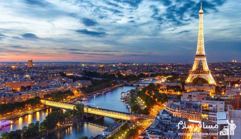 پاریس، سفر نوروزی، جهانگردی، مسافرسلام