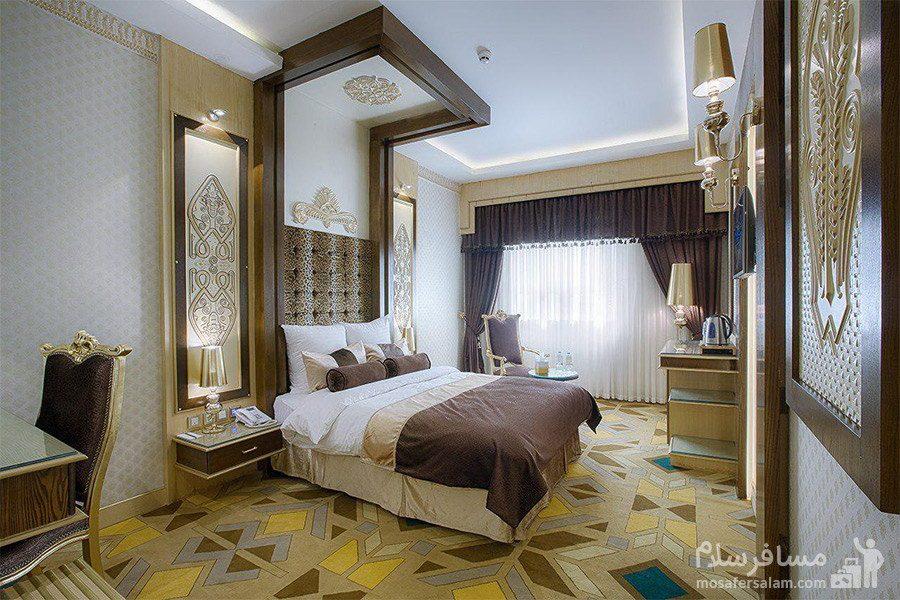 اتاق کانکت هتل الماس 2 مشهد