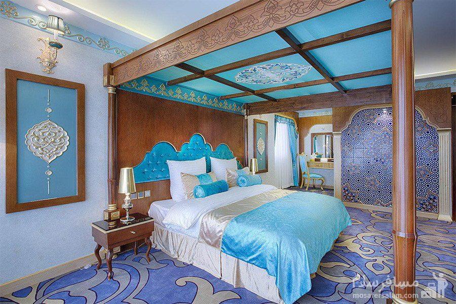 اتاق امپریال سبک ترکیه هتل الماس 2 مشهد