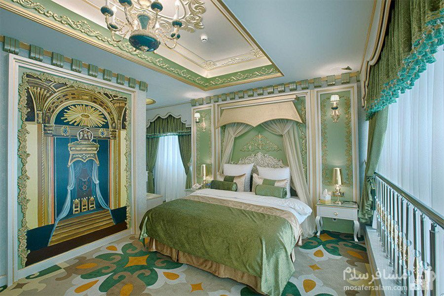 اتاق رویال هتل الماس 2 مشهد