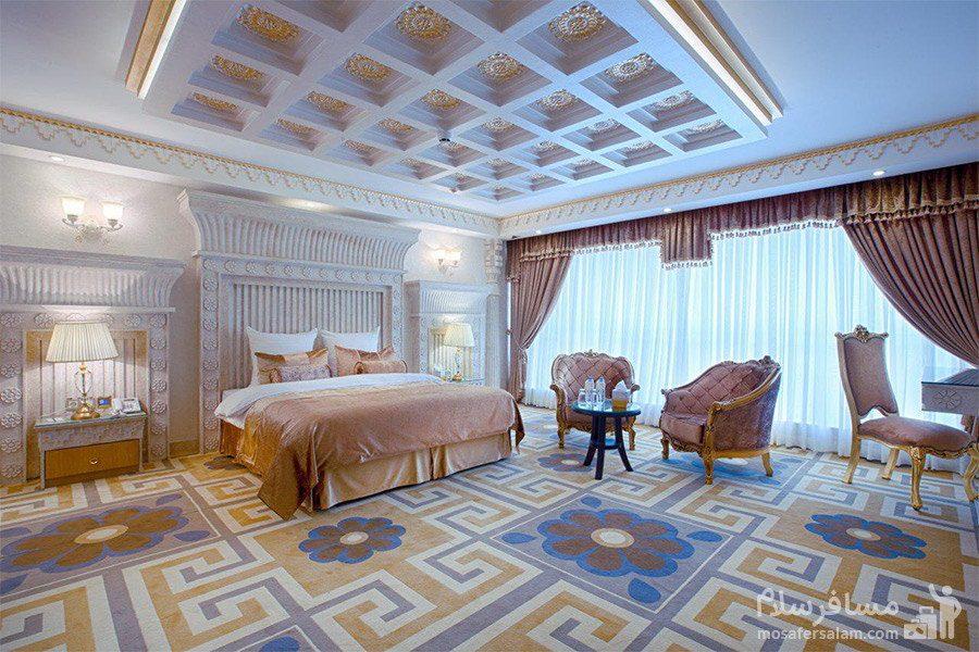 سوئیت پرزیدنت هتل الماس 2 مشهد