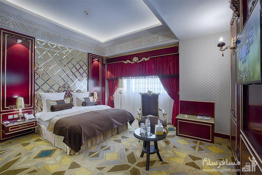 اتاق آگرا هتل الماس 2 مشهد