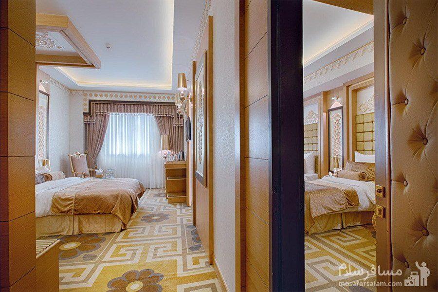 اتاق سبک معماری تمدن ها هتل الماس 2 مشهد