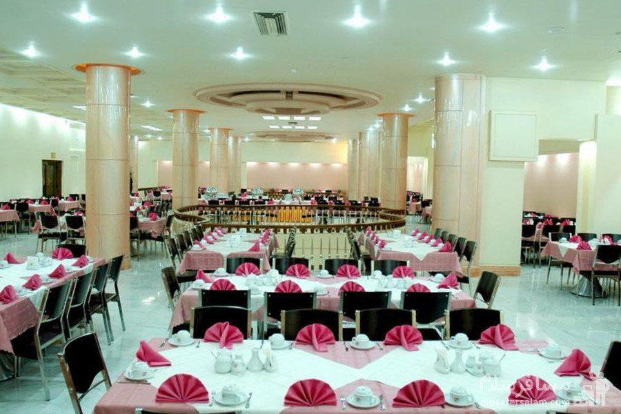 سالن غذاخوری مرجان هتل مینو مشهد