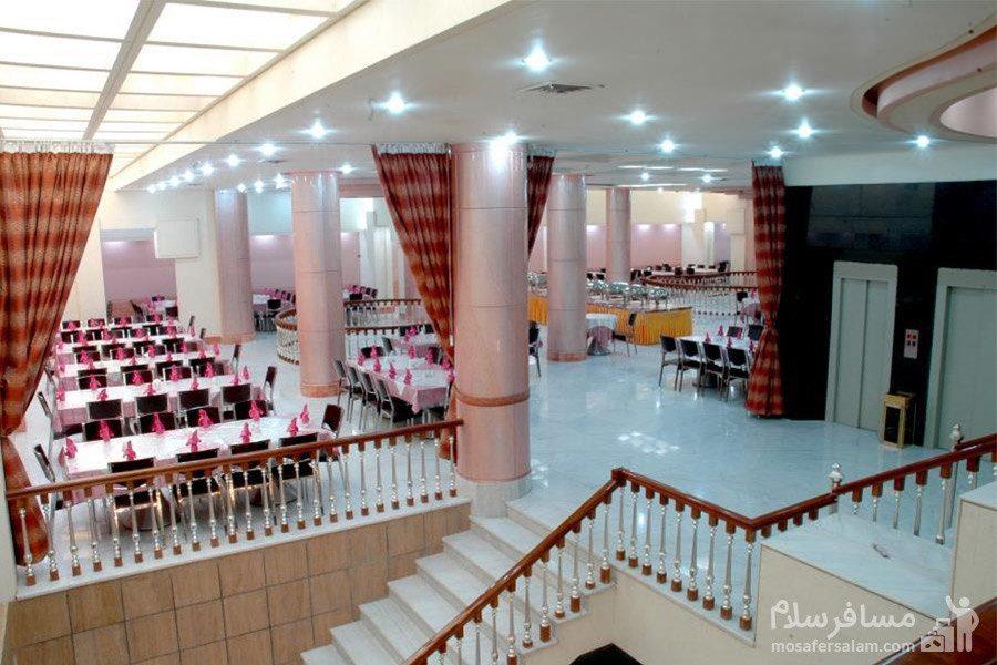 سالن غذاخوری صدف هتل مینو مشهد