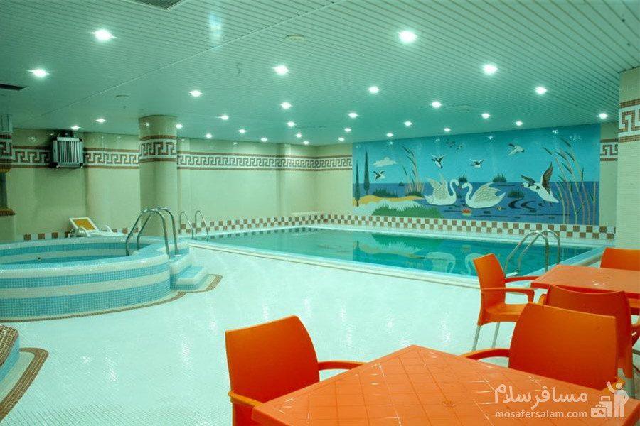 سالن اسپا هتل مینو مشهد