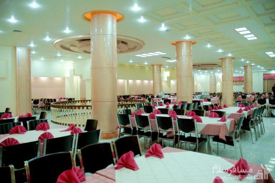 سالن مرجان هتل مینو مشهد