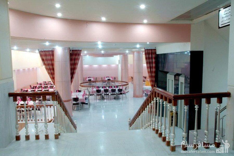 سالن صدف هتل مینو مشهد