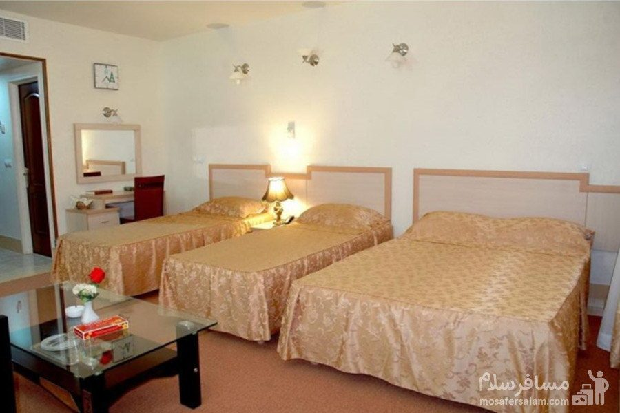 اتاق یکخوابه هتل مینو مشهد
