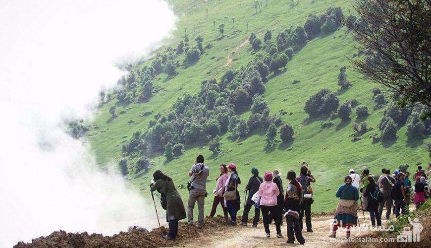 کوهنوردی در جاده خلخال به اسالم, گردشگری مسافر سلام