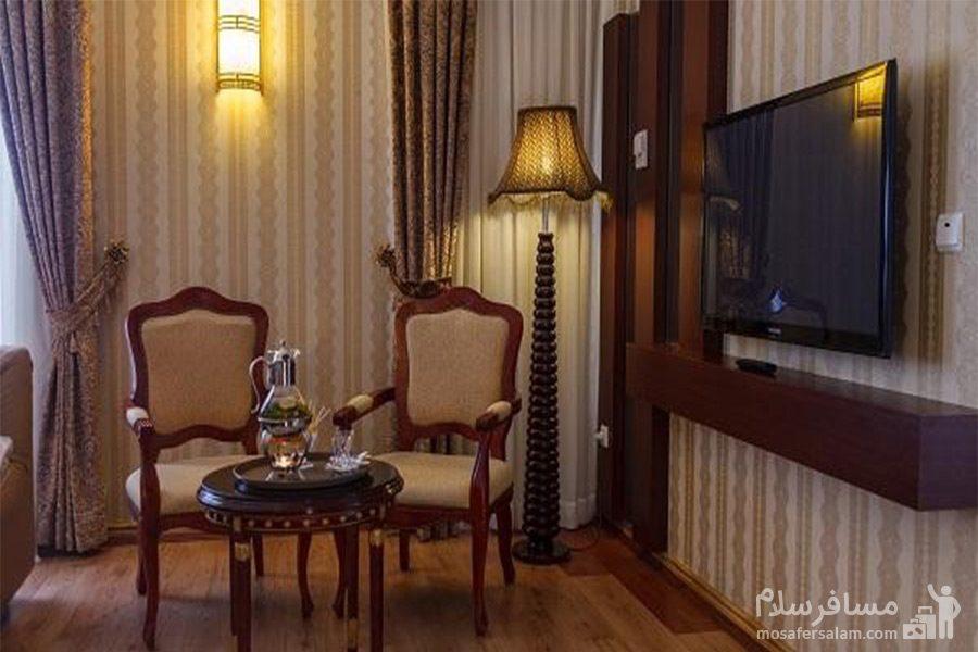 اتاق رویال شمس B هتل قصرالضیافه مشهد